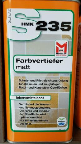 S235 Farbvertiefer matt